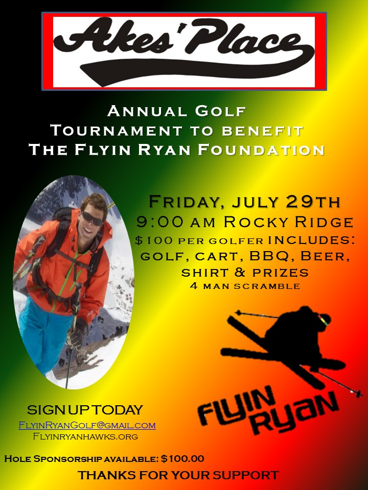 2016 Akes Place Golf Tourny to support the FRF